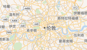 伦敦 - 在线地图