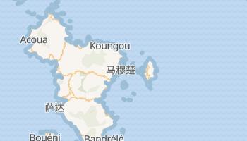 马约特 - 在线地图