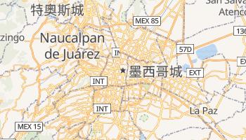 墨西哥城 - 在线地图