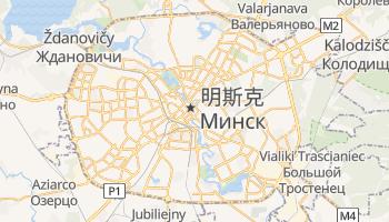 明斯克市 - 在线地图