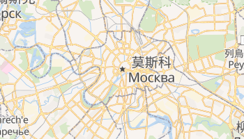 莫斯科 - 在线地图