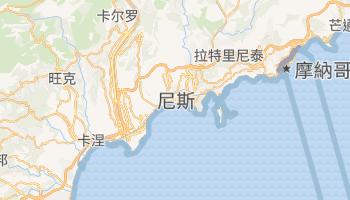 尼斯 - 在线地图