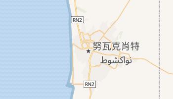 努瓦克肖特 - 在线地图