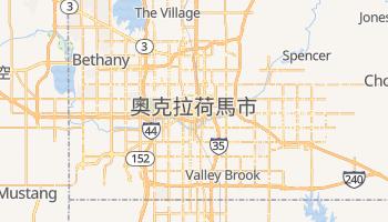 奧克拉荷馬市 - 在线地图