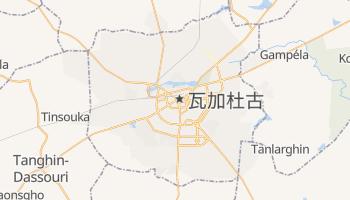 瓦加杜古 - 在线地图