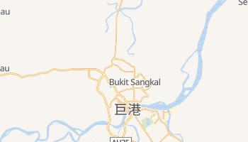 巨港 - 在线地图