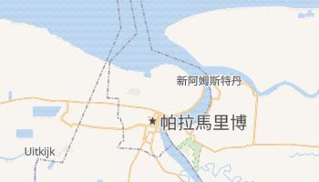 帕拉马里博 - 在线地图