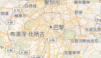 巴黎 - 在线地图