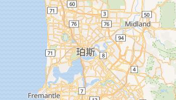 珀斯 - 在线地图