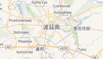 波茲南 - 在线地图