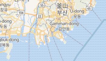 釜山 - 在线地图
