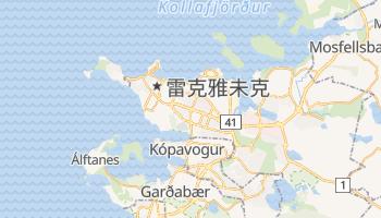 雷克亞維克 - 在线地图