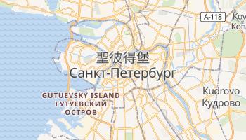 圣-圣彼得堡 - 在线地图