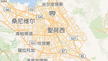 聖荷西 - 在线地图