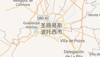 圣路易斯波托西 - 在线地图