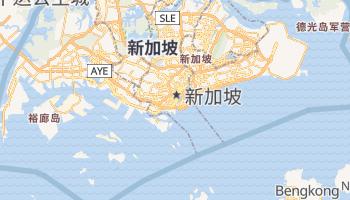 新加坡 - 在线地图