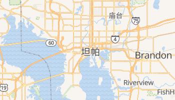 坦帕 - 在线地图