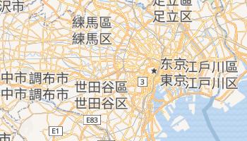 东京 - 在线地图