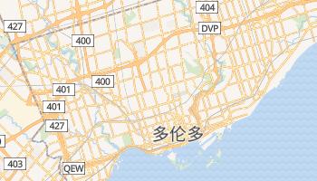 多伦多 - 在线地图