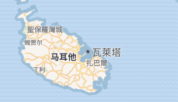 瓦莱塔 - 在线地图