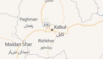 Online-Karte von Kabul