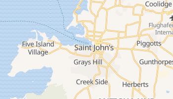 Online-Karte von Saint John's