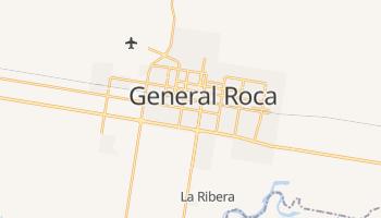 Online-Karte von General Roca