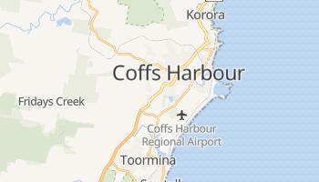 Online-Karte von Coffs Harbour