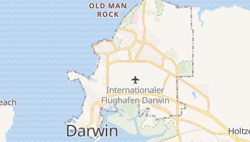Online-Karte von Darwin