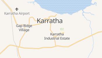 Online-Karte von Karratha