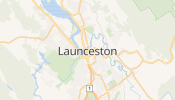 Online-Karte von Launceston