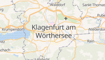 Online-Karte von Klagenfurt am Wörthersee