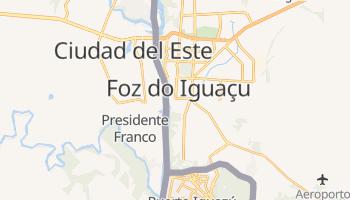 Online-Karte von Foz do Iguaçu