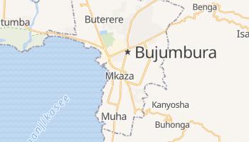 Online-Karte von Bujumbura