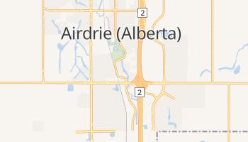 Online-Karte von Airdrie