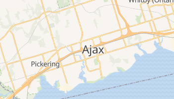 Online-Karte von Ajax
