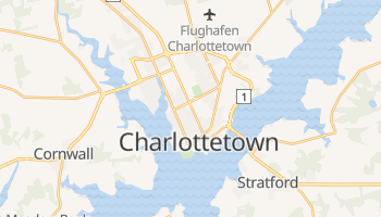 Online-Karte von Charlottetown