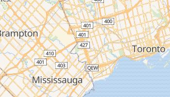 Online-Karte von Etobicoke