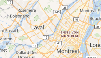 Online-Karte von Laval
