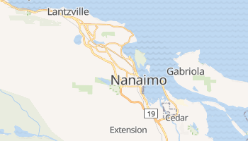 Online-Karte von Nanaimo
