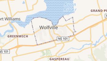 Online-Karte von Wolfville