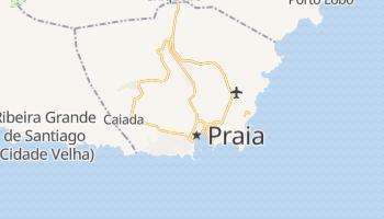 Online-Karte von Praia