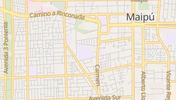 Online-Karte von Maipú