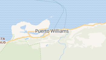 Online-Karte von Puerto Williams