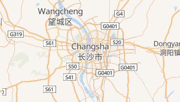 Online-Karte von Changsha
