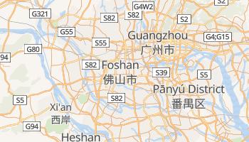 Online-Karte von Foshan