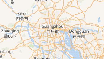 Online-Karte von Guangzhou