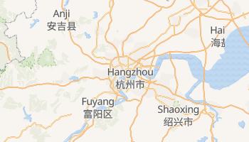 Online-Karte von Hangzhou