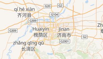 Online-Karte von Jinan
