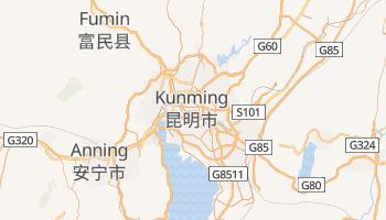Online-Karte von Kunming